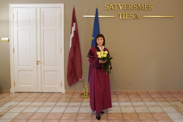 Sanita Osipova, President of the Constitutional Court of the Republic of Latvia. Photo: