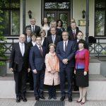 Vācijas Federālās Konstitucionālās tiesas vizīte Satversmes tiesā