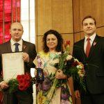 Kristīne Krūma apbalvota ar Tieslietu sistēmas Otrās pakāpes Goda zīmi