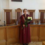 Satversmes tiesas priekšsēdētāja Ineta Ziemele
