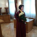 Satversmes tiesas priekšsēdētājas vietniece Sanita Osipova