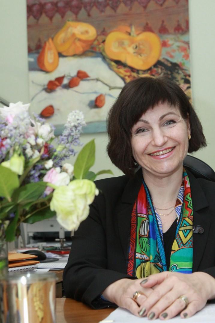 Satversmes tiesas priekšsēdētājas vietniece S.Osipova. Foto: no S.Osipovas personīg arhīva.