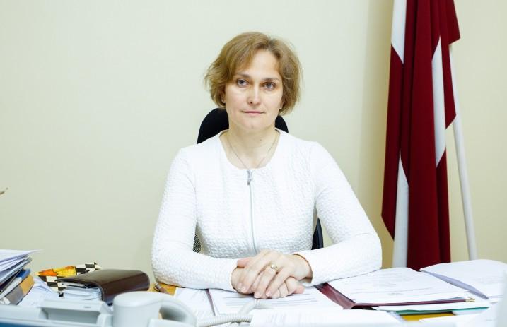 Satversmes tiesas priekšsēdētāja I.Ziemele. Foto: D.Suļžics, F64 Photo Agency.