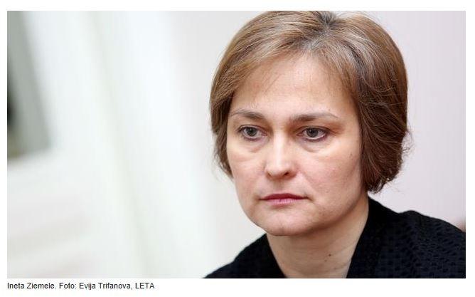 Satversmes tiesas priekšsēdētāja Ineta Ziemele. Foto: Ekrānšāviņš no www.irlv.lv.