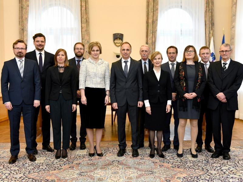 Foto: Tamino Petelinsek, Slovēnijas Konstitucionālā tiesa